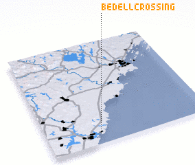 3d view of Bedell Crossing