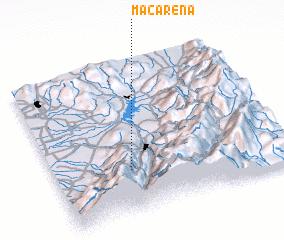 3d view of Macarena