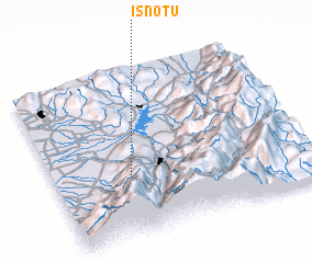 3d view of Isnotú