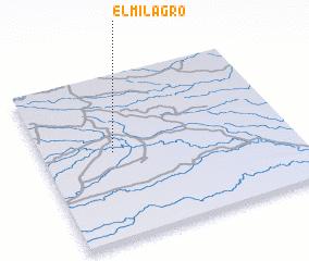 3d view of El Milagro