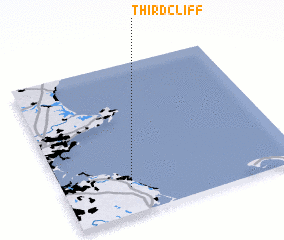 3d view of Third Cliff
