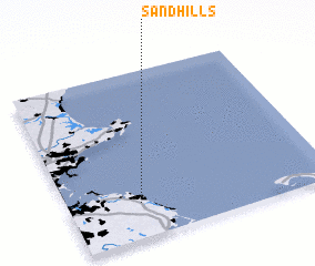 3d view of Sand Hills