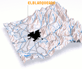 3d view of El Blanqueado