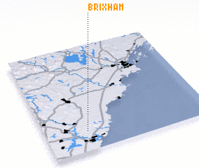 3d view of Brixham