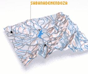 3d view of Sabana de Mendoza