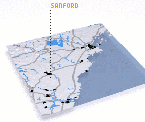 3d view of Sanford
