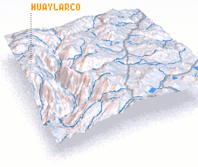 3d view of Huaylarco