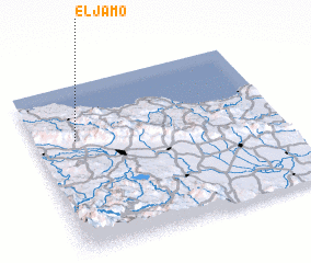 3d view of El Jamo
