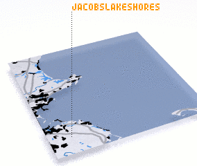 3d view of Jacobs Lake Shores