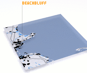 3d view of Beach Bluff