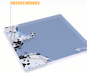 3d view of Nason Corners