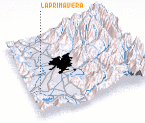 3d view of La Primavera
