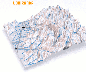 3d view of Lo Miranda
