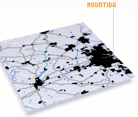 3d view of Mount Ida