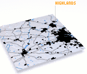 3d view of Highlands