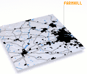 3d view of Farm Hill