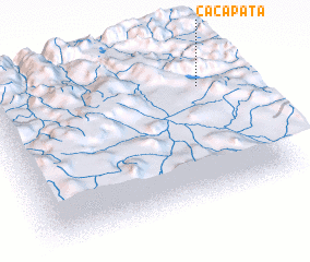 3d view of Cacapata
