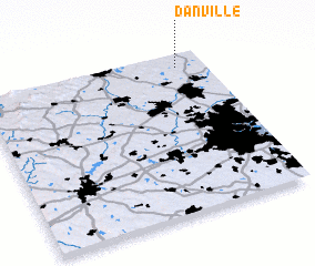 3d view of Danville