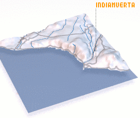 3d view of India Muerta
