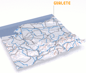 3d view of Gualete