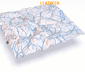 3d view of Llatacca