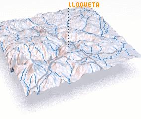 3d view of Lloqueta