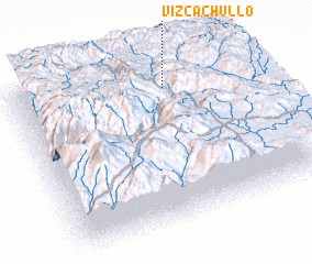 3d view of Vizcachullo