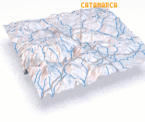 3d view of Catamarca