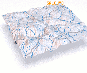 3d view of Salcuyo