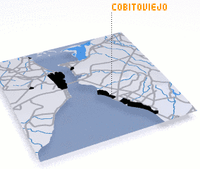 3d view of Cobito Viejo