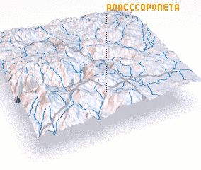 3d view of Anac Ccoponeta