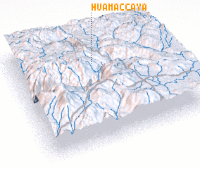 3d view of Huamaccaya