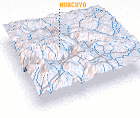 3d view of Huacuyo