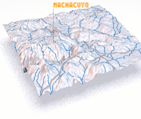 3d view of Machacuyo