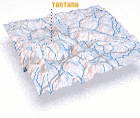 3d view of Tantaña