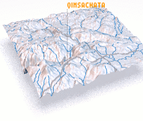 3d view of Qimsachata