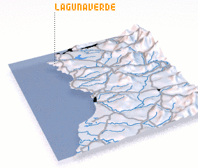 3d view of Laguna Verde
