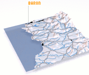 3d view of Barón