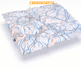 3d view of Carhuasanta