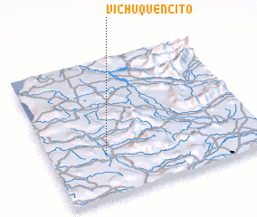3d view of Vichuquencito
