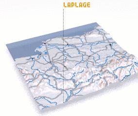 3d view of La Plage