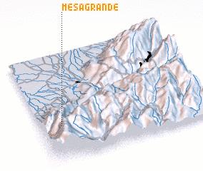 3d view of Mesa Grande