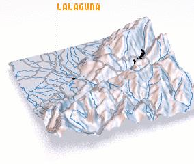 3d view of La Laguna
