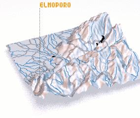 3d view of El Moporo