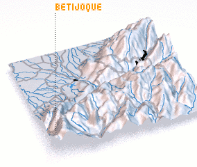 3d view of Betijoque