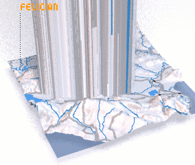 3d view of Félician