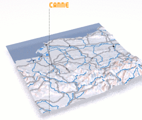 3d view of Canne