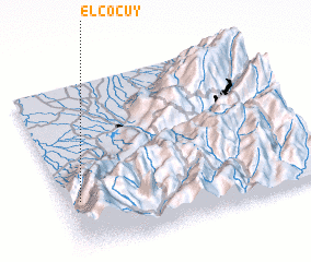 3d view of El Cocuy