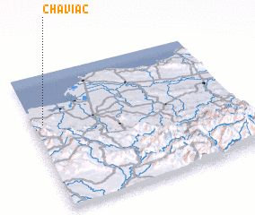 3d view of Chaviac