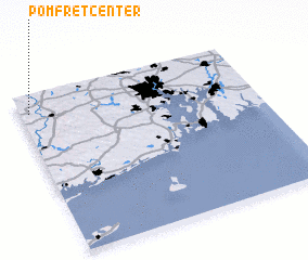 3d view of Pomfret Center